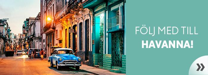 Följ med till Havanna - inspirationsartiklar från Vings värld.