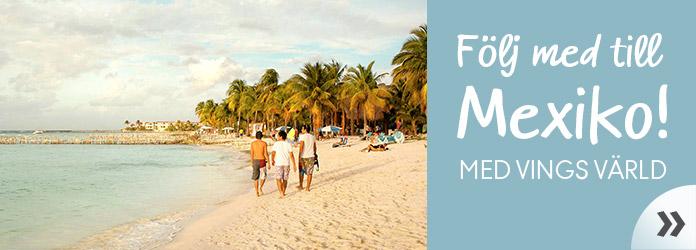 Följ med till Mexiko - inspirationsartiklar från Vings värld.