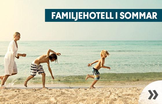 Sommarens bästa familjehotell