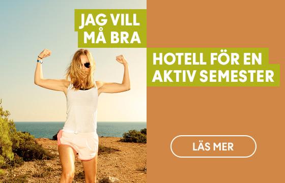 Hotell för en aktiv semester