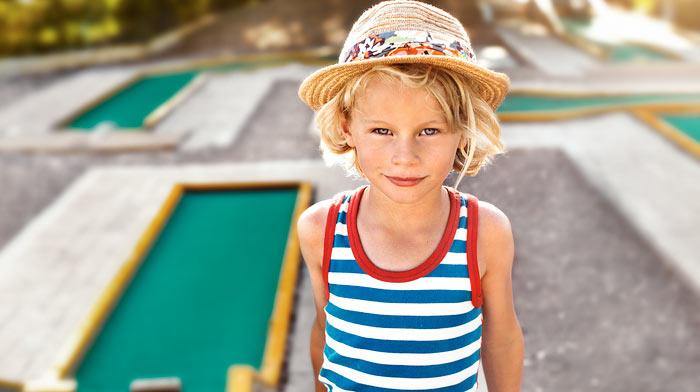 Minigolf & tennis
